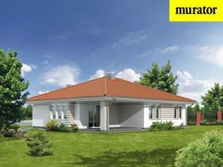 Murator M09a - widok od ogrodu