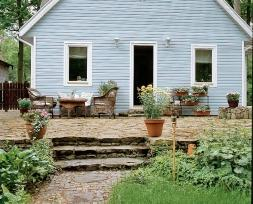 Między domem a ogrodem
