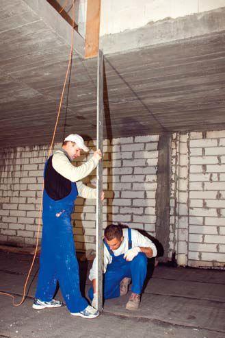 Przygotowanie do montażu schodów prefabrykowanych
