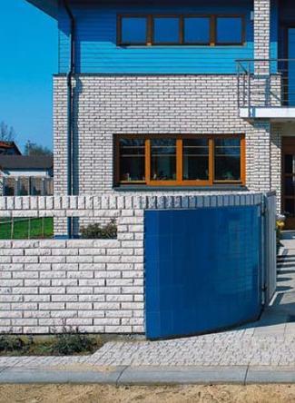 Ogrodzenie murowane