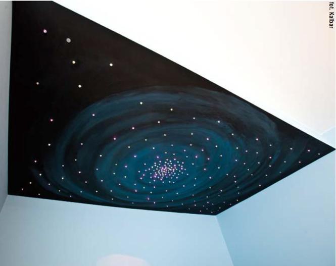 Sufit - niebo w pokoju dziecka