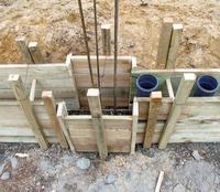 Ogrodzenie klinkierowe - fundament