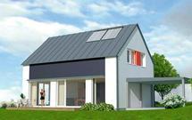 Instalacje w domu energooszczędnym. Kocioł gazowy, kolektory słoneczne i rekuperator