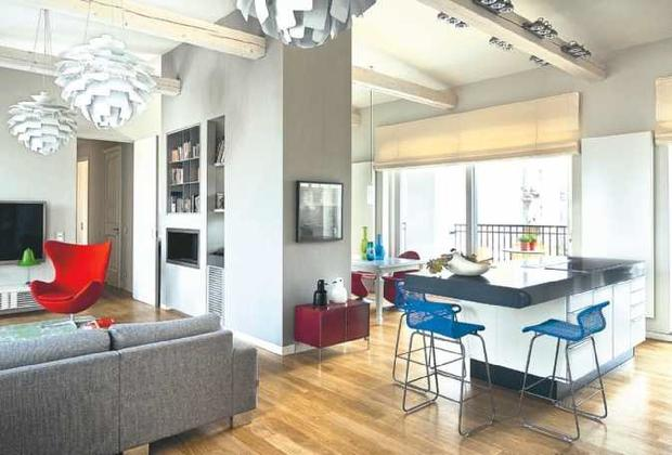 Jak urządzić salon połączony z kuchnią Kuchnia, jadalnia i miejsce wypoczynk