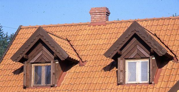 Dachówki - rewia kształtów i kolorów