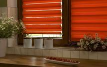 Rolety okienne z pomocą w słoneczne dni