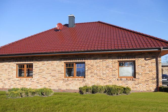 Dachówka ceramiczna Piemont kolor kasztanowy