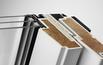 Okno drewniano-poliuretanowe z energooszczędnym pakietem 3-szybowym