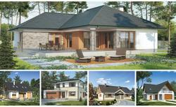 5 idealnych domów dla dużej rodziny. Wybieramy projekty dla rodziny 2+3