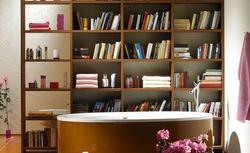 Książki w łazience