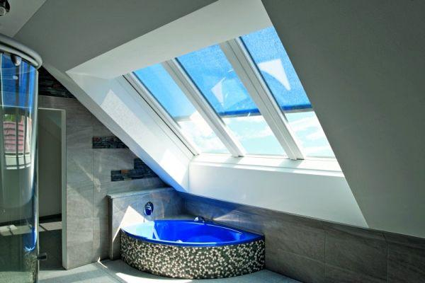 Duże okna dachowe