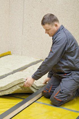 Podłoga na legarach: podkład podłogowy z płyt