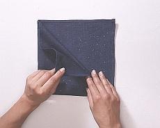 Układanie serwetek w wachlarz - krok III