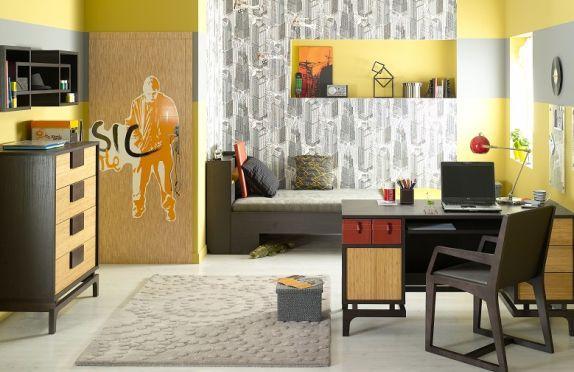 Pomysł na pokój dla nastolatka. Jak dobrać do wnętrza meble? Jak pomalować ściany?