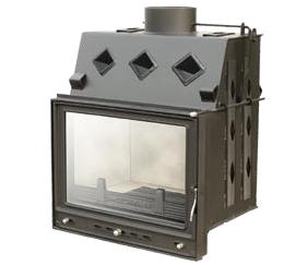 Stalowe wkłady kominkowe o mocy do 15 kW. PRZEGLĄD